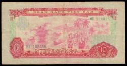 Vietnam del Sur 10 Dong PK 43 (1.966-75) MBC