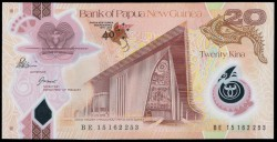 Papúa Nueva Guinea 20 Kina Pk Nuevo (2.015) S/C