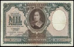 1000 Ptas 1940 Murillo. BC+
