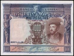 1000 Pesetas 1925 Carlos I MBC+
