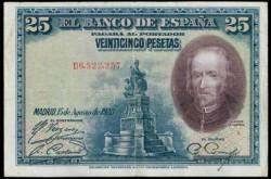 25Ptas 1928 Calderón de la Barca MBC