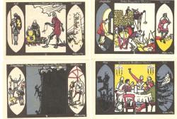 Döbeln 4 de 50 Pfennig (1,2,3 y 4) (1-9-1.921) KL 268. Lote 1 de 2. S/C