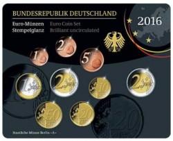 Alemania 2016 Cartera Oficial Cualquier Ceca S/C