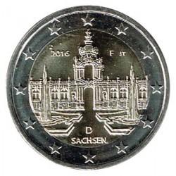 Alemania 2016 2 Euros Ceca F Palacio Zwinger de Dresde S/C