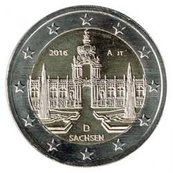 Alemania 2016 2 Euros Ceca A. Palacio Zwinger de Dresde S/C