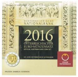 Austria 2016 Cartera Oficial S/C