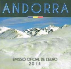 Andorra 2014 Cartera Oficial S/C
