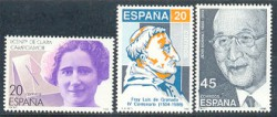 1988 - Centenarios de personalidades. (2929-31)