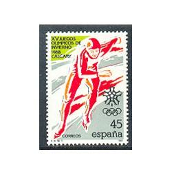 1988 - Juegos Olímpicos de Invierno 1988. Calgary. (2932)
