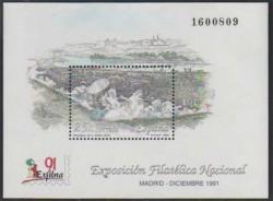 1991 - Exposición Filatélica Nacional EXFILNA 91.(3145)
