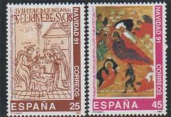 1991 - Navidad. (3142-43)