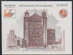 1992 - Exposición Filatélica Nacional EXFILNA 92.(3222)