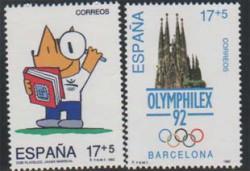 1992 - Juegos de la XXV Olimpiada Barcelona 92. (3218-19)