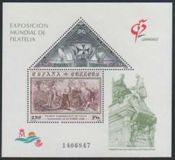 1992 - Exposición Mundial de Filatelia. GRANADA92. (3195)