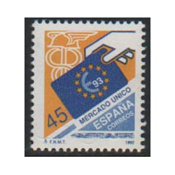 1992 - Mercado Unico Europeo. (3226)