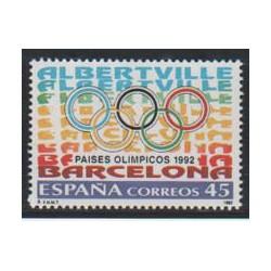 1992 - Paises Olímpicos. (3211)