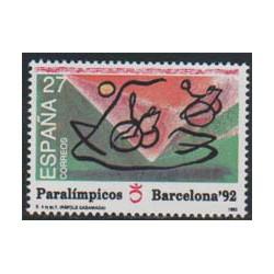 1992 - Juegos Paralímpicos.(3192)