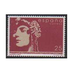 1992 - Mujeres famosas españolas. Margarita Xirgu. (3152)