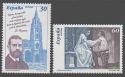 1996 - Literatura española. Personajes de ficción. (3456-57)