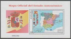 1996 - Mapa oficial del Estado Autonomico (3460)