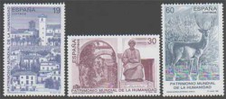1996 - Bienes Culturales y Naturales Patrimonio Mundial de la Humanidad (3453-55)