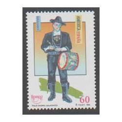 1996 - América-UPAEP. Trajes típicos masculinos (3452)