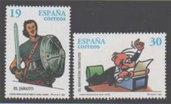 1996 - Cómics. Personajes de tebeo (3435-36)
