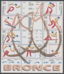 1996 - Deportes.Olimpicos de Bronce (3418-26)