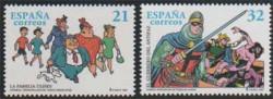 1997 - Comics. Personajes de tebeo (3486-87)