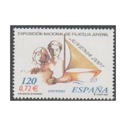 2001 - Exposición Nacional de Filatelia Juvenil JUVENIA 2001. (3781)