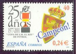 2001 - 25 años de la Copa de S.M. el Rey de Fútbol.(3805)