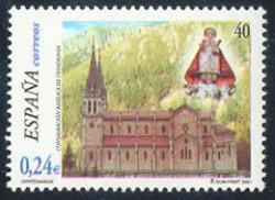 2001 - Centenario de la consagración de la Basílica de Covadonga.(3814)