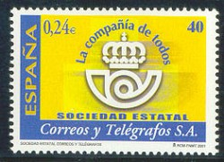 2001 - Sociedad Estatal Correos y Telégrafos.(3815)