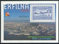 2001 - Exposición Filatélica Nacional EXFILNA 2001. (3816)