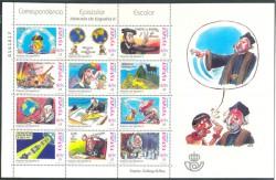 2001 - Correspondencia Epistolar Escolar.(3822-33)