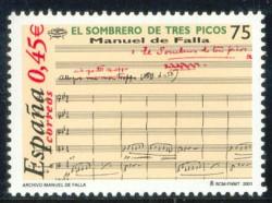 2001 - Manuel de Falla.(3838)