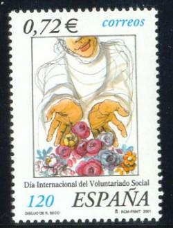 2001 - Día Internacional del Voluntariado Social. (3842)
