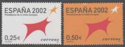 2002 - España 2002. Presidencia de la Unión Europea. (3865-66)