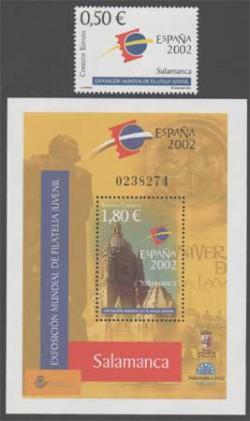 2002 - Exposición Mundial de Filatelia Juvenil España 2002. (3877-78)