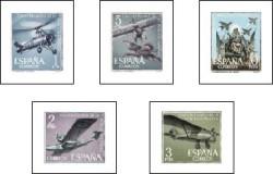1961 - L aniversario de la Aviación Española. (1401-05)