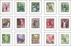 1962 - Misterios de Santo Rosario. (1463-77)
