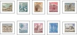 1966 - Serie turística. (1726-35)