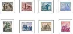 1966 - Castillos de España. (1738-45)