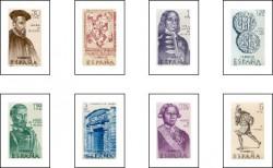 """1966 - VII serie """"Forjadores de América"""". (1750-57)"""