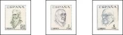 1966 - Literatos españoles. Centenario de su nacimiento. (1758-60)