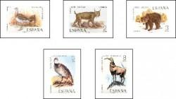 1971 - Fauna hispánica. (2036-40)