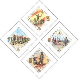 1971 - L aniversario de la Legión. (2043-46)