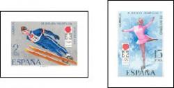 1972 - XI Juegos Olímpicos de Invierno en Sapporo. (2074-75)