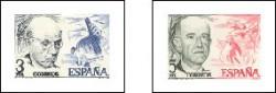 1976 - Centenario del nacimiento de Pau Casals y Manuel de falla. (2379-80)