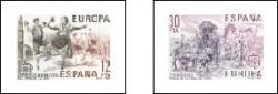 1981 - Europa-CEPT. (2615-16)